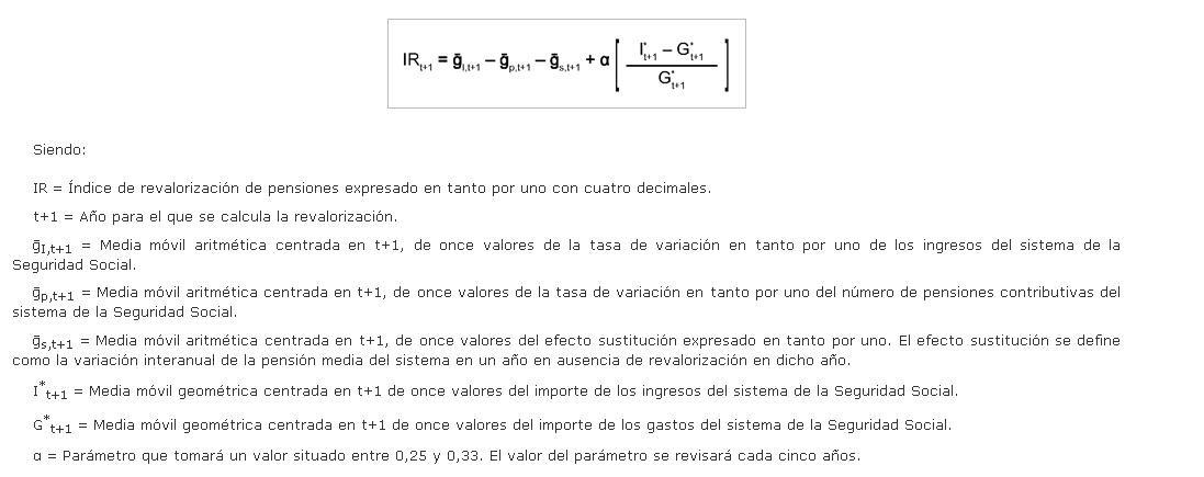 Artículo 58. Revalorización.